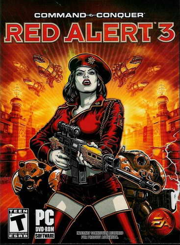 Command And Conquer Red Alert 3 [v.1.12] (RIP)