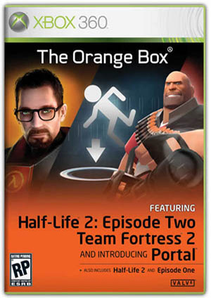 Half Life 2 The Orange Box (2009/XBOX360/RUS)