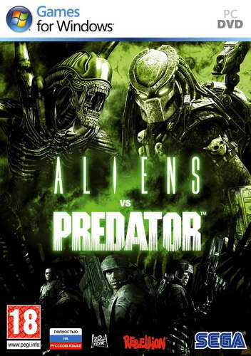 Aliens vs. Predator (1С-СофтКлаб/2010/RUS) (Full/RePack/Rip)