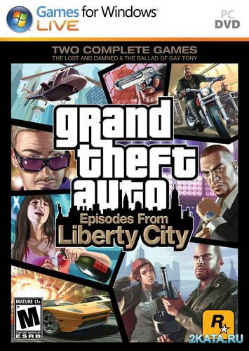 Grand Theft Auto Episodes From Liberty City (2010/MULTI6/RUS) (Full/ReРack)