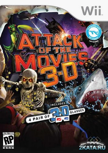 Attack of the Movies 3D (2010/NTSC/ENG/Wii)