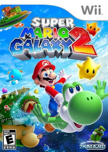 Super Mario Galaxy 2 (2010/NTSC/ENG/Wii)