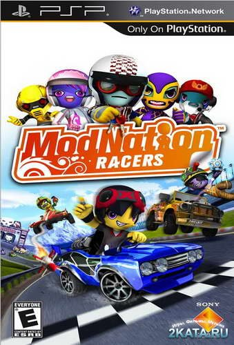 ModNation Racers (Patched) (2010/FullRIP/Multi13/RUS/PSP)