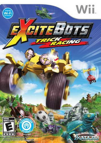 Excitebots: Trick Racing (2009/NTSC/ENG/Wii)