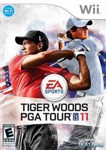 Tiger Woods PGA Tour 11 (2010/NTSC/ENG/Wii)