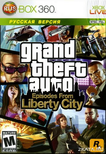 Grand Theft Auto. Episodes From Liberty City [RUS] (2009/XBOX360)