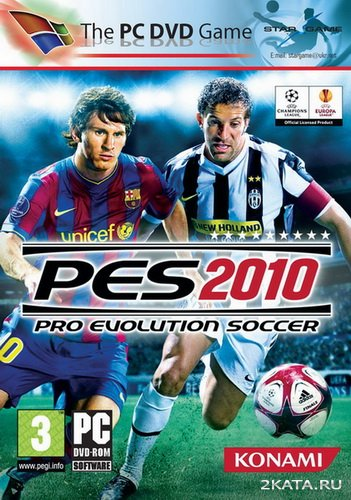 Pro Evolution Soccer 2010 - South Africa - World Cup (2010/ENG)