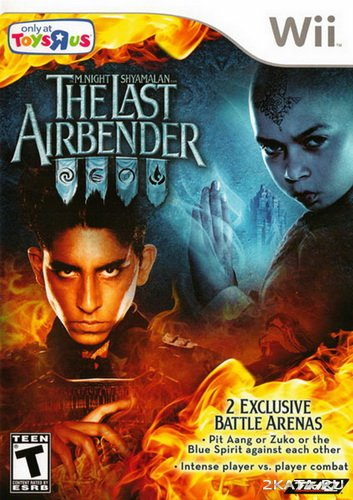 The Last Airbender: The Movie (2010/NTSC2/PAL/ENG/Wii)