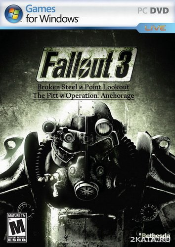 Fallout 3: Broken Steel + Point Lookout + The Pitt + Operation: Anchorage (2010/RUS/RePack)