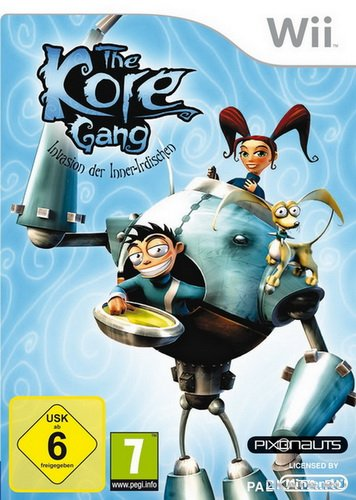 The Kore Gang Invasion From Inner Earth (2010/PAL/ENG/Wii)