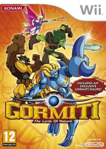 Gormiti: The Lords of Nature! (2010/PAL/ENG/Wii)