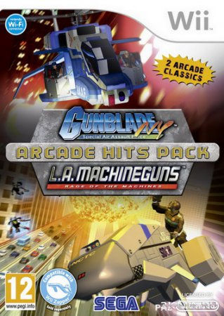 Gunblade NY and LA Machineguns Arcade (2010/PAL/ENG/Wii)