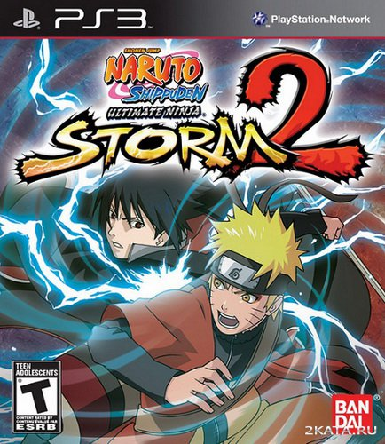 Naruto Shippuden: Ultimate Ninja Storm 2 (2010) (PS3)