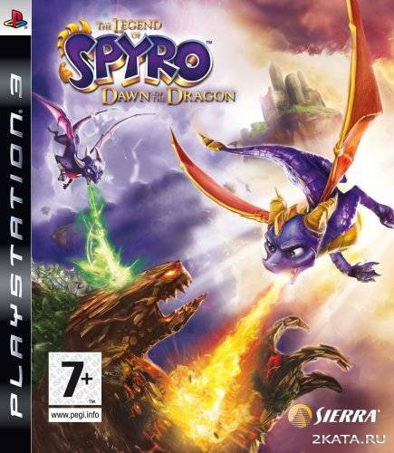 The Legend of Spyro. Dawn of the Dragon [RUSSOUND] [EUR] (PS3)
