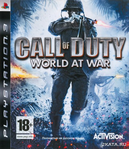 Call of Duty. World at War [RUSSOUND] [EUR] (2008/PS3)