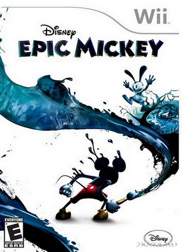 Disney Epic Mickey (2010/PAL/ENG/Wii)