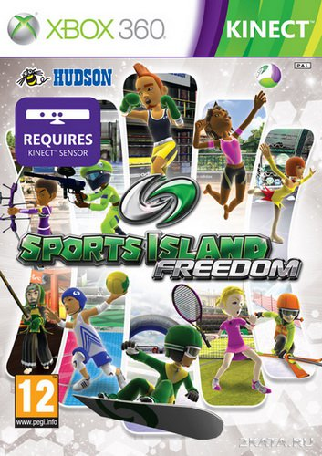 Sports Island Freedom (2010/PAL/ENG/XBOX360)