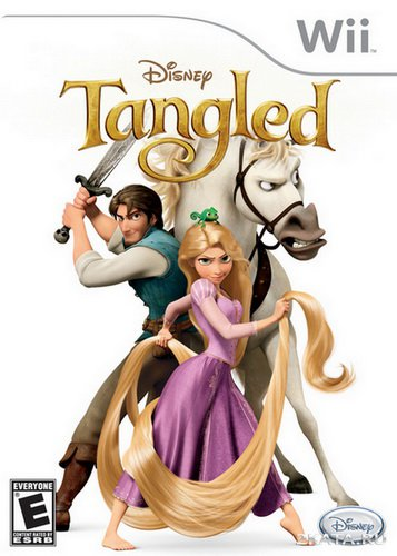 Disney Tangled: The Video Game (2010/NTSC/ENG/Wii)