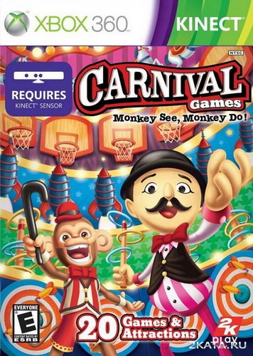 Carnival Games. Monkey See, Monkey Do! (2011/XBOX360)