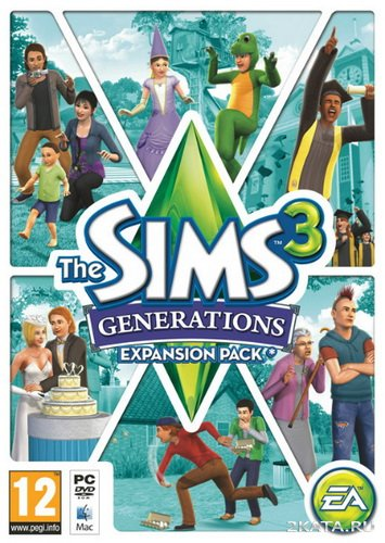 The Sims 3. Все возрасты / The Sims 3. Generations [MULTI-20/RUS/ENG] (2011)