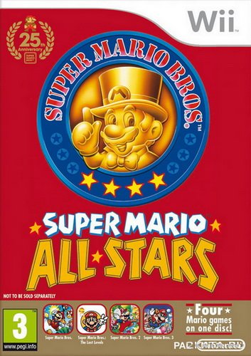 Super Mario All-Stars Limited Edition [PAL] (2010/Wii)