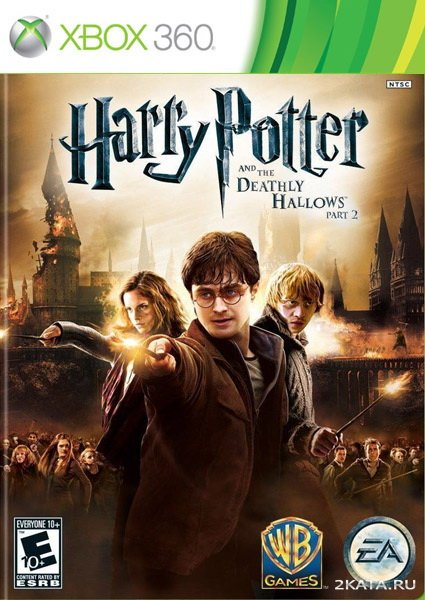 Harry Potter and the Deathly Hallows. Part 2 [RUS] (2011/XBOX360)