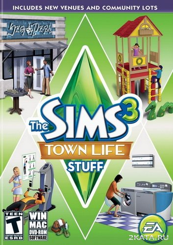 The Sims 3. Town Life Stuff [MULTi-9/ENG/RUS] (2011)