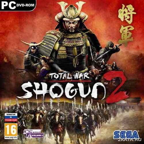 Total War. Shogun 2 [RUS/ENG] (2011) RePack от [R.G.Механики]