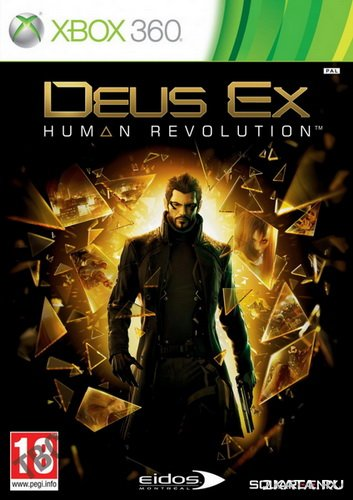 Deus Ex. Human Revolution (2011) (RUSSOUND) (XBOX360)