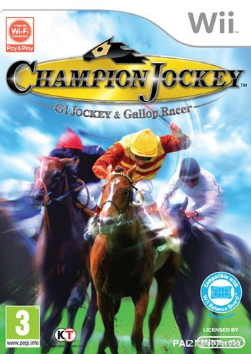 Champion Jockey. G1 Jockey and Gallop Racer (Wii)