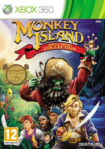 Monkey Island. Special Edition Collection (XBOX360)