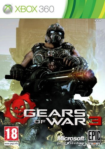 Gears of War 3 [RUS] (XBOX360) JTAG