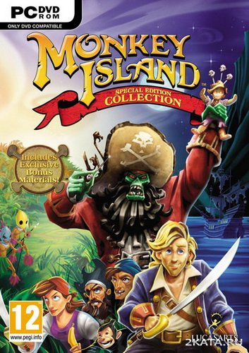 Monkey Island Special Edition Collection [ENG/MULTI-5] от RELOADED