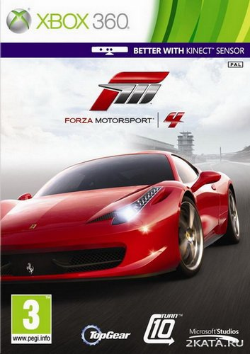 Forza Motorsport 4: Car Pack [Disk 2/Rip] [RUSSOUND] (XBOX360)