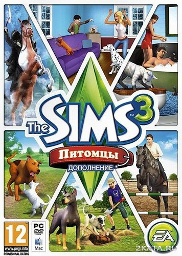 The Sims 3: Pets / The Sims 3: Питомцы [RUS/ENG/MULTI] Add-On