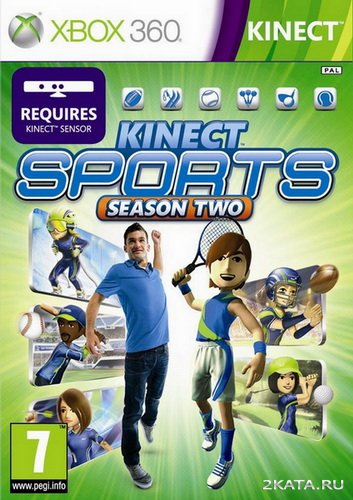 Kinect Sports Season Two [RUSSOUND] (XBOX360)