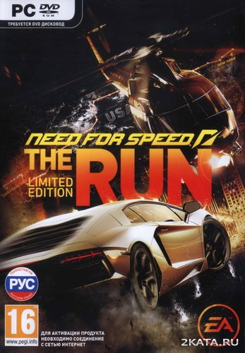 Need for Speed: The Run. Limited Edition [RUS/ENG/MULTI-8] (PC) Full / RePack