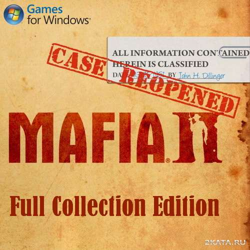 Mafia 2: Full Collection Edition [v.1.1] [RUS] RePack от [R.G. UniGamers]