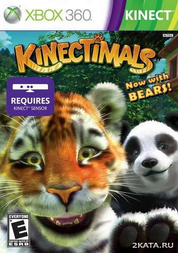 Kinectimals: Now with Bears! (LT+3.0/2.0) [MULTI/RUS] (XBOX360)