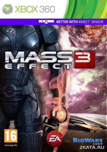 Mass Effect 3 Demo [RUS] (XBOX360) JTAG