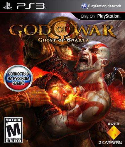 God of War: Ghost of Sparta HD (RUSSOUND) (PS3) RePack