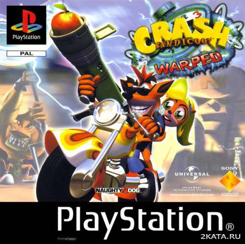 Crash Bandicoot 3: Warped (PSN) (PS3)