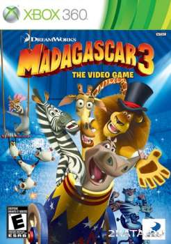 Madagascar 3: The Video Game (2012) (RUS) (XBOX360)