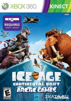 Ice Age: Continental Drift - Arctic Games (ENG/RUSSOUND) (XBOX360)