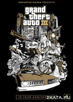 GTA 3: 10th Anniversary Edition / Grand Theft Auto 3 (ver.1.0-1.3) (2011) (RUS/ENG) (Android)