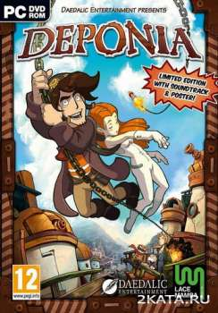 Deponia - квест (2012) (ENG) (CPY) / Full / RePack
