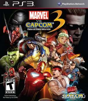 Marvel vs. Capcom 3: Fate of Two Worlds + Full DLC Pack (2011) (PS3)