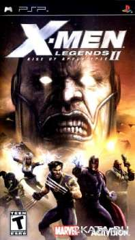 X-Men Legends II Rise of Apocalypse (2005) (RUS) (PSP)