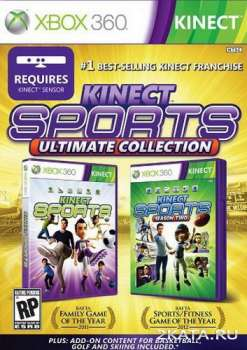 Kinect Sports: Ultimate Collection (2012) (RUSSOUND) (XBOX360)