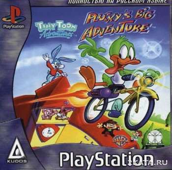 Tiny Toon Adventures: Plucky's Big Adventure (PS1/RUS)